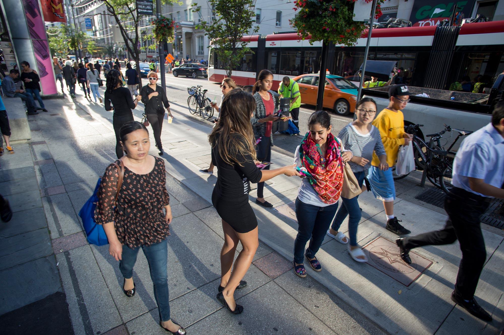 street teams experiential marketing canada toronto montreal calgary edmonton vancouver ottawa