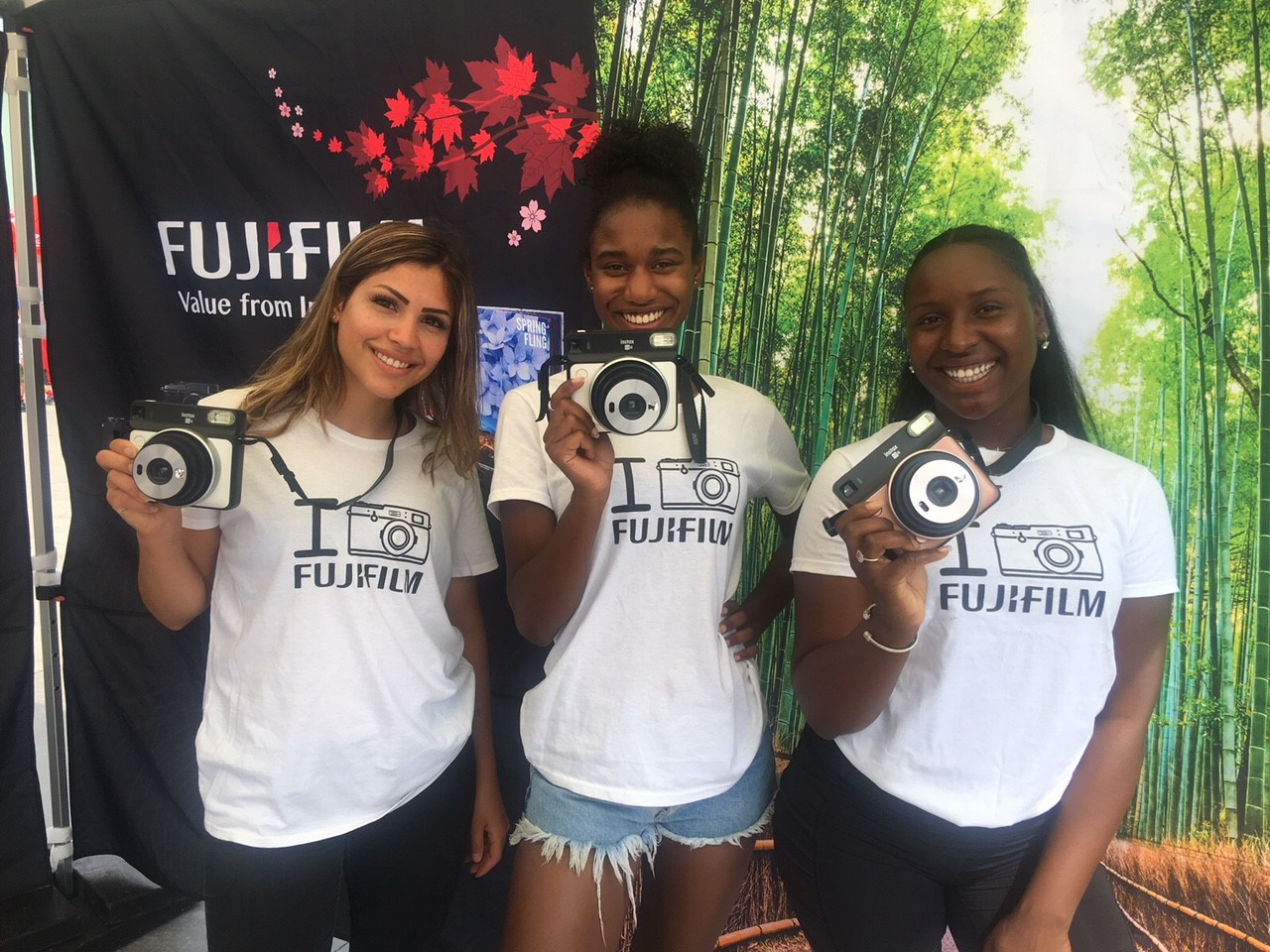 fujifilm trade show experiential marketing canada